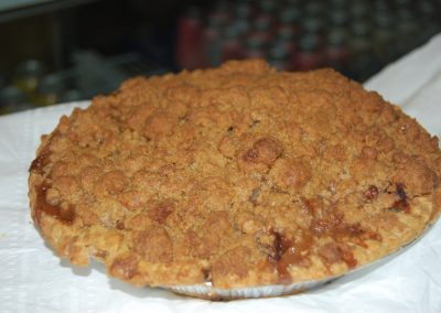 Peach Custard Crumb