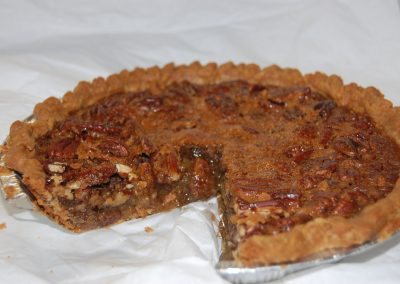 Pecan Pie Cross Section